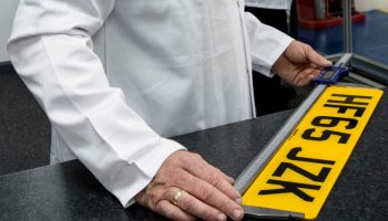 Strict new number plate legislation to come into force later this year