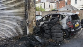 Video: Poole garage owners face arson attack aftermath