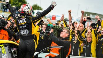 WIX Racing with Eurotech celebrates at Snetterton BTCC anniversary round