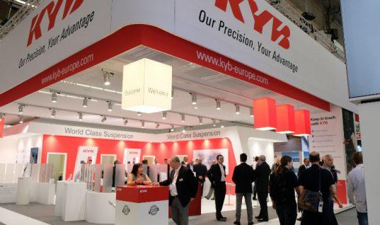 KYB focus on the future at Automechanika Frankfurt
