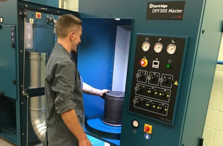 Feather Diesel invests in latest DPF cleaning technology
