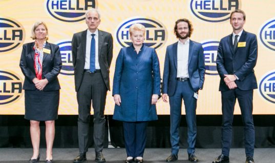 HELLA opens new electronics plant in Lithuania