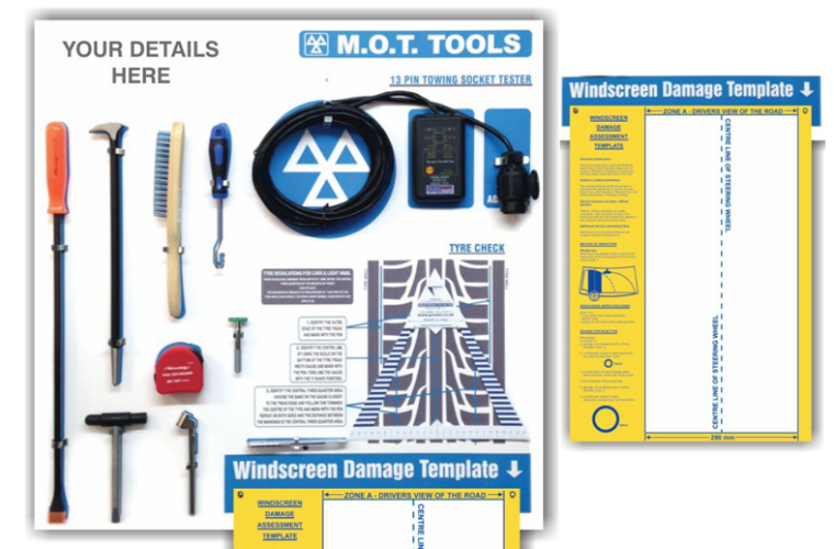 Get 20 per cent off this MOT tool shadow board from Prosol
