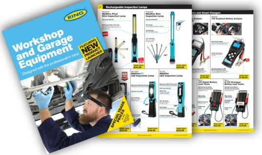 Ring launches UK winter garage and workshop equipment catalogue