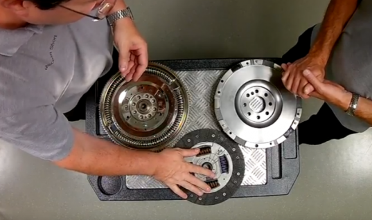 Watch: REPXPERTs show the difference between DMF and solid conversion clutches