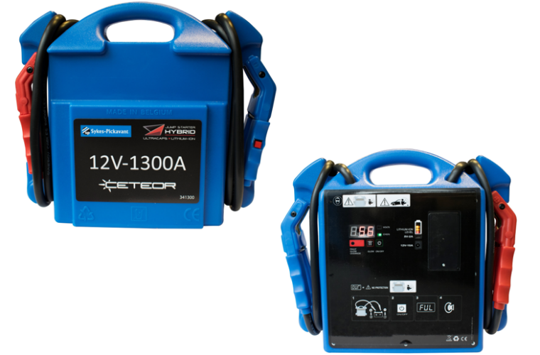 Sykes-Pickavant hybrid ultracapacitor battery booster