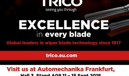 TRICO to launch new original equipment manufacturer logo