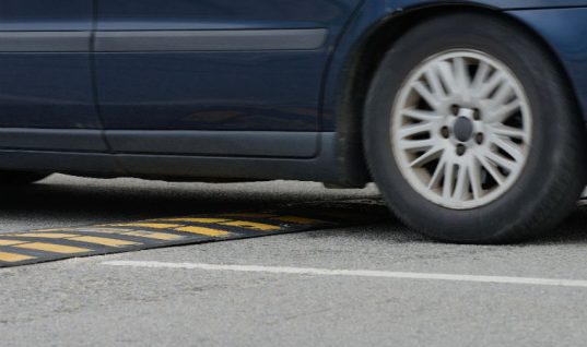 More than a fifth drivers report speed bump damage to their car