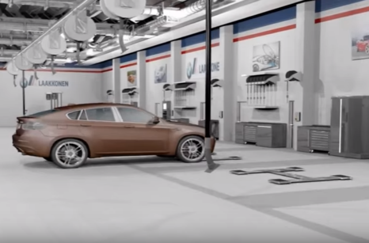 Watch: 3D renders show how Dura can transform garage workshops