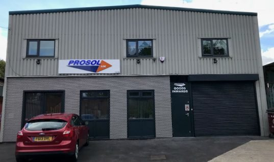 Prosol UK moves to new premises