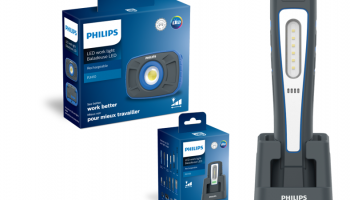 New Philips professional LED workshop lamps now available