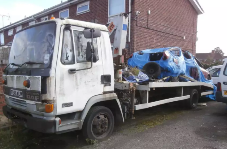 Battered breakdown truck owner faces expensive parking fine after ignoring warnings