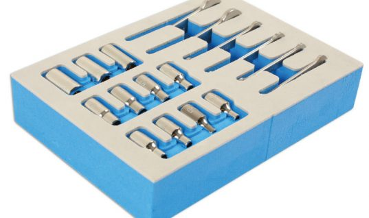 New 17-piece BA socket and spanner set from Laser Tools