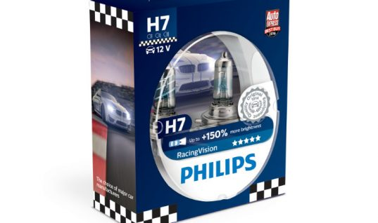 Philips RacingVision is awarded Best Buy 2018 by Auto Express
