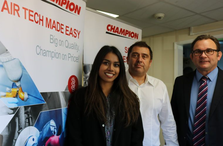 The Parts Alliance to launch Champion air compressors range
