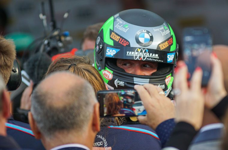 TerraClean-backed Turkington wins BTCC crown for third time