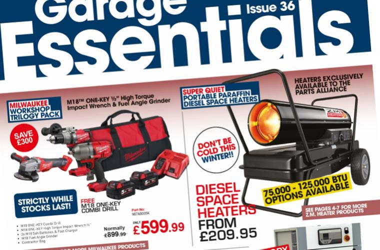 """""""Unbeatable"""" autumn Garage Essentials from The Parts Alliance"""