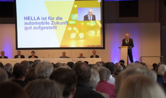 HELLA annual general meeting decision increases dividend to €1.05 per share