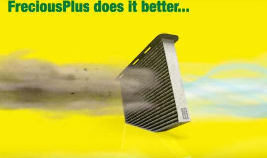 Watch: How MANN-FILTER's FreciousPlus cabin filter works