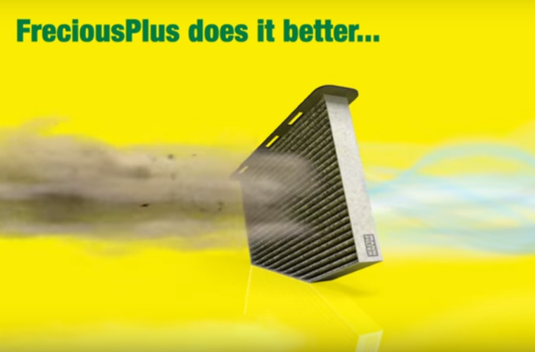 Watch: How MANN-FILTER's FreciousPlus cabin filter works