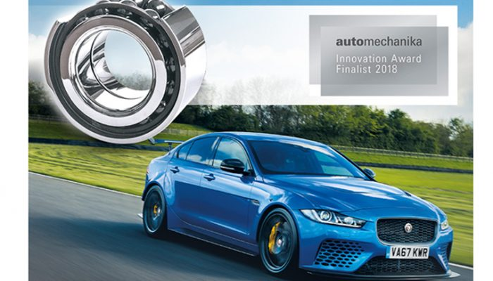 Jaguar-selected NTN-SNR ceramic wheel bearings gets award recognition