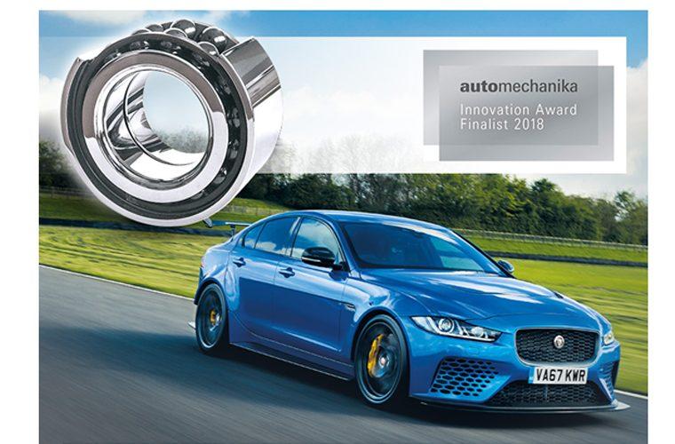 Jaguar-selected NTN-SNR ceramic wheel bearings gets award recognition