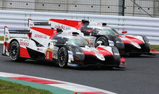 TOYOTA GAZOO Racing victorious for third year in a row at Six Hours of Fuji