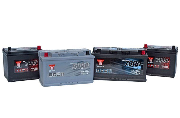 Yuasa adds new battery types to original equipment YBX automotive range