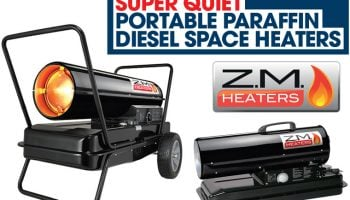 """""""Super quiet"""" diesel space heaters from The Parts Alliance"""