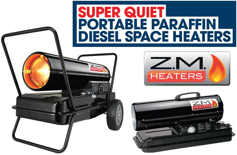Super Quiet Diesel Space Heaters
