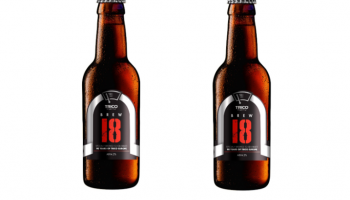 TRICO celebrates 90th European anniversary with new Brew 18 beer