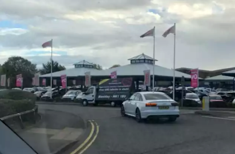 Watch: Independent car dealership launches 'revenge' attack on main dealer