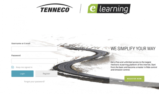 Tenneco launches eLearning platform for technicians