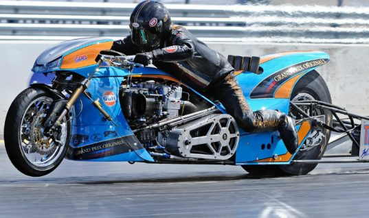 Gates-powered rider wins FIM European Top Fuel Motorcycle Championship