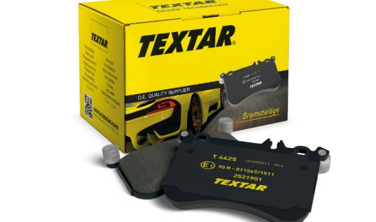 New to range Jaguar and Land Rover pads available from Textar