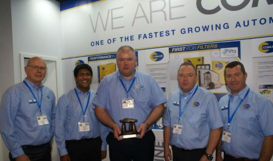 Comline named Best Stand at Auto Trade Expo in Dublin