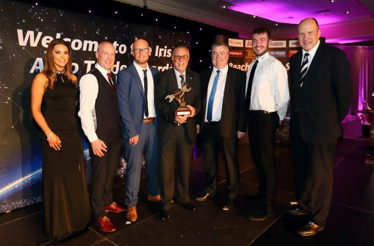 ZF wins Irish Auto Trade's 'Automotive Aftermarket Parts Manufacturer of the Year'