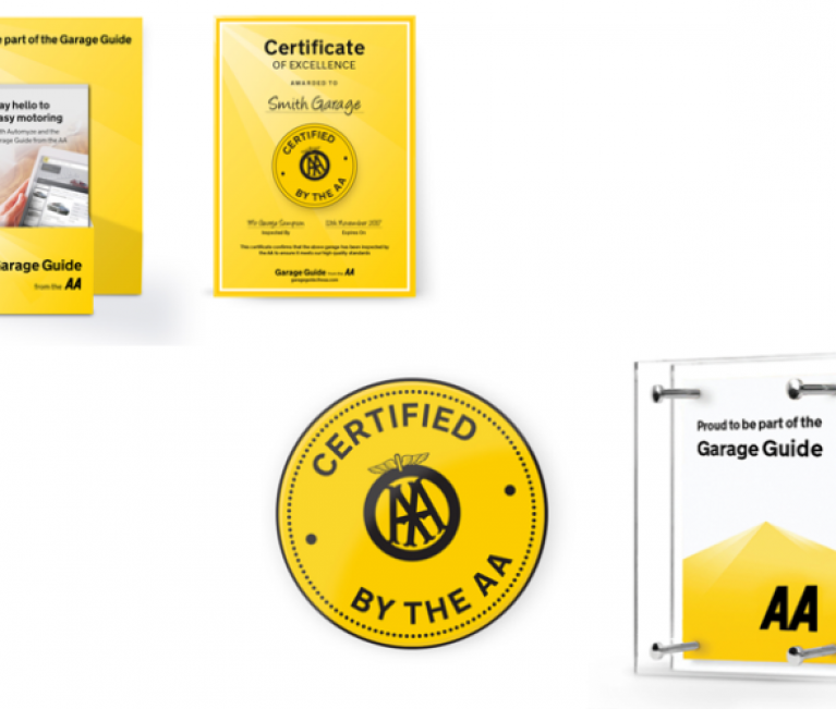 AA Garage Guide opens online shop for its certified network