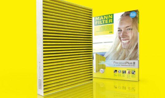 "Enhanced MANN-FILTER FreciousPlus brings ""new standard in cabin air filters"""