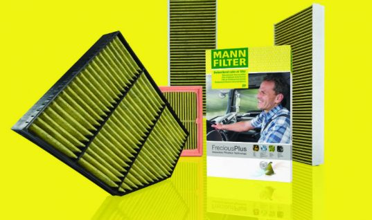 Expanded FreciousPlus cabin air filter range for trucks and buses