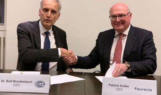 HELLA and Faurecia enter into strategic collaboration