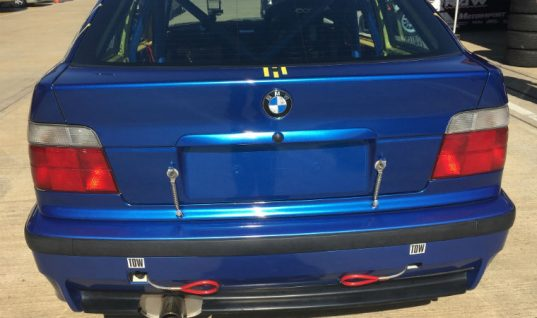 Klarius exhaust and CAT brings 25hp gains to BMW Compact Cup car