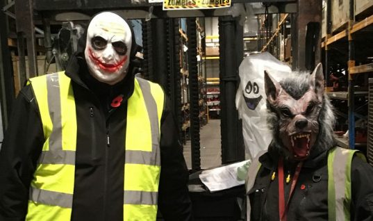 Klarius Halloween fundraiser combines frights and cupcakes to support KidSafe UK