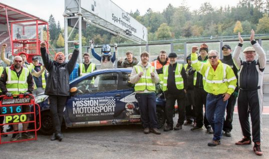 Mintex partners with Mission Motorsport for C1 24-hr race