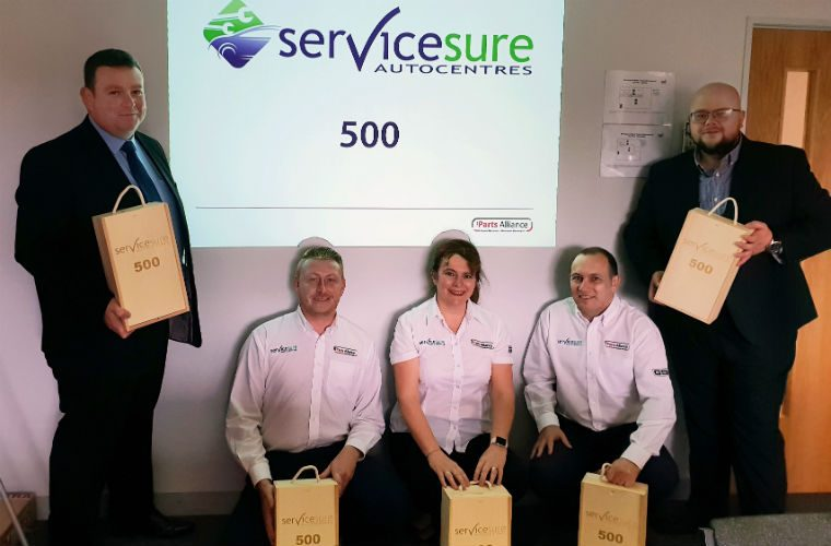 Servicesure network signs 500th member
