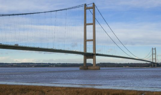 Humber Bridge to become first musical road in UK under new plans