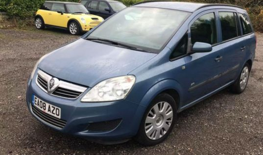 Bids for garage's part-ex Zafira reach £350 despite 'I urge you not to buy it' description