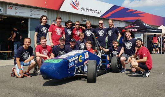 Comline backs Formula Student team Vermilion Racing
