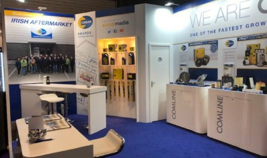 Comline takes on Europe in show-stopping 2018