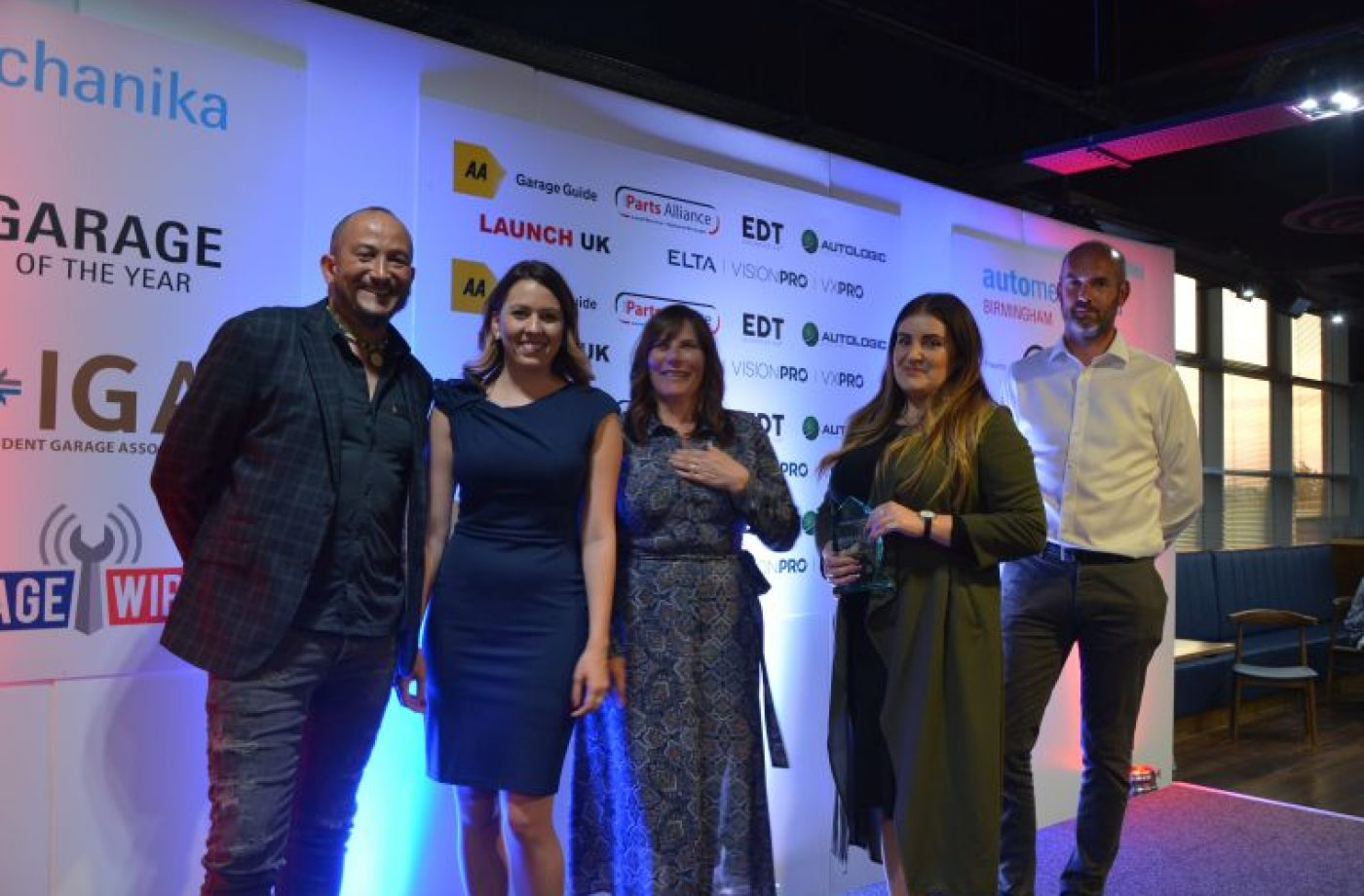 TechMan helps Northampton garage scoop award double